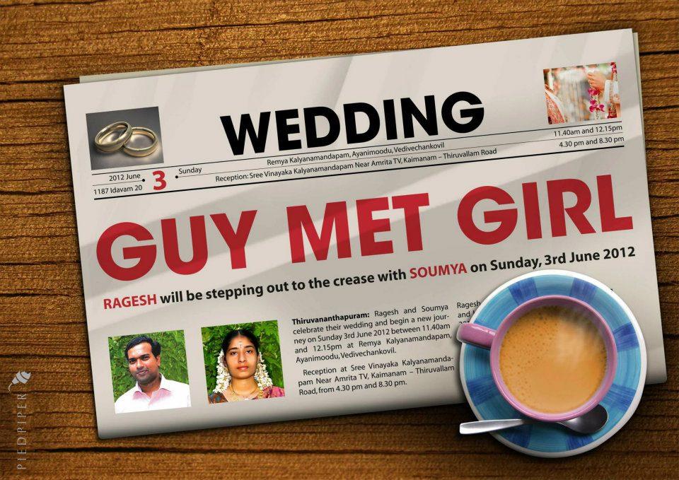 Innovative Wedding Invitations: PIED PIPER: INNOVATIVE WEDDING INVITATION