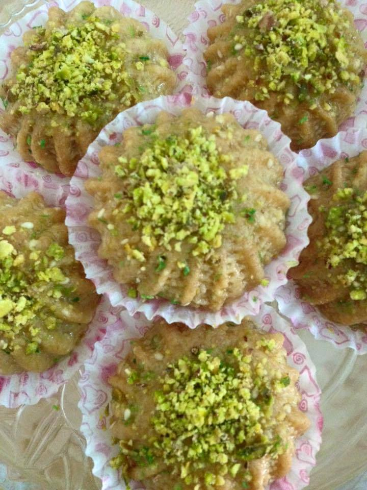 المعمول بالحلقوم والجوز CuisineFatouma - Cuisine fatouma