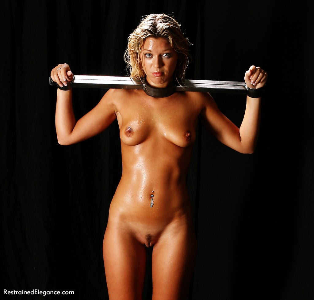 bondage Naked girl bdsm