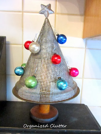 Alternative Christmas Trees from Junk