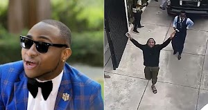 Moment Davido And His Lawyer Arrived At His Home After He Was Released From Police Custody (Video)