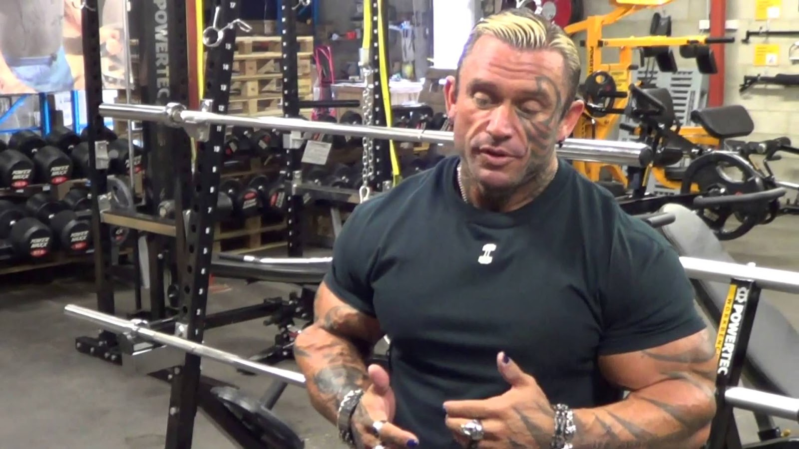 Image result for Lee Priest Steroids