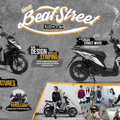 Honda Perbarui Warna New Honda BeAT Street eSP Naga Mas Motor Klaten