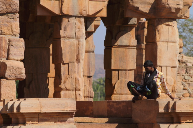 Local and the stones of the Pattadakkal temple complex
