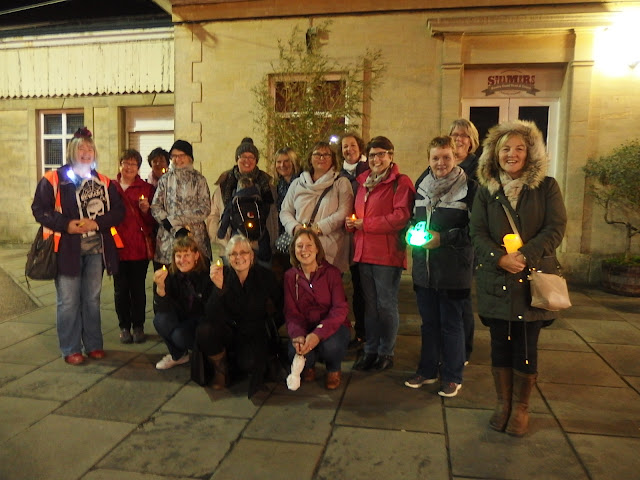 Our ghost walk meeting point at Chippenham railway station