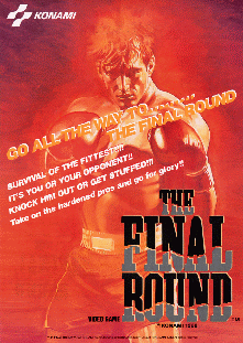 The Final Round+arcade+game+portable+retro+art+flyer