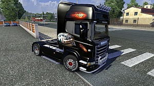 NFS skin for Scania R