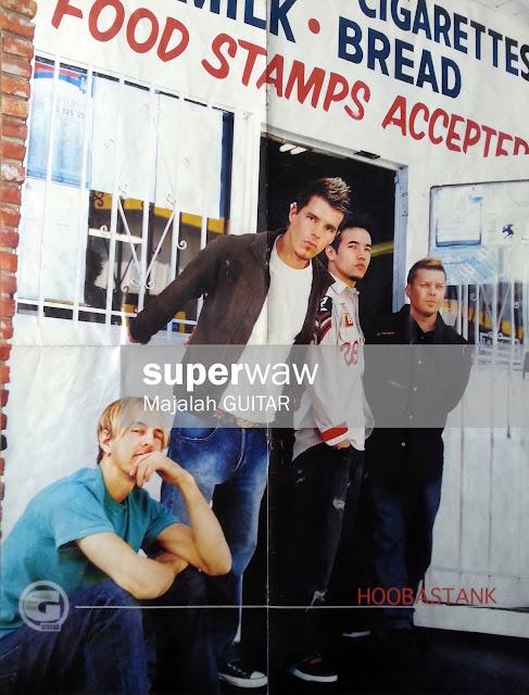 Poster Band HOOBASTANK