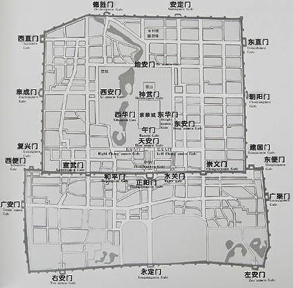 MAD Synapse: 北京の城門 内城城門