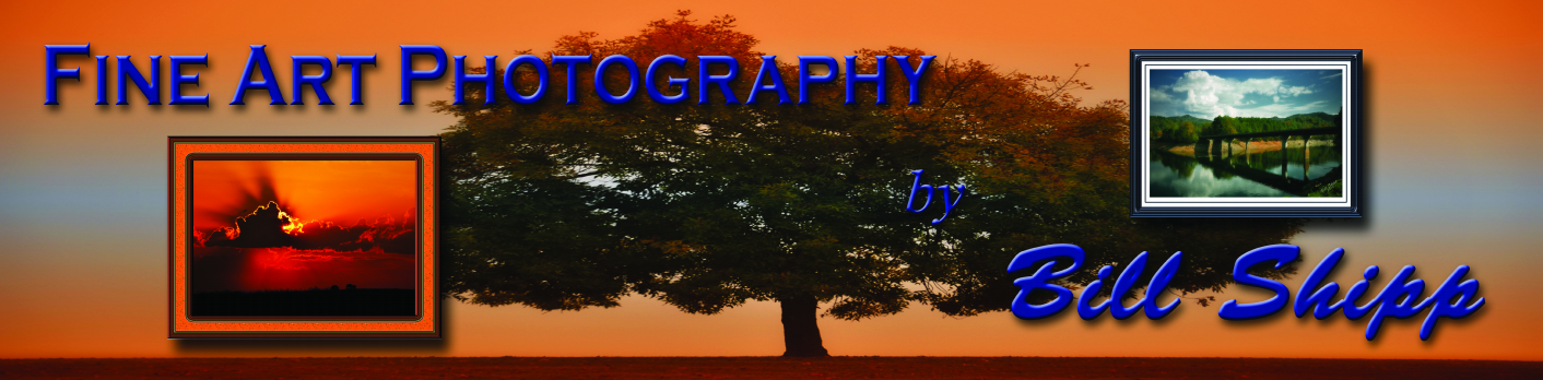Fine Art Photography by Bill Shipp Banner