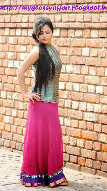 Festival Fashion at My Glossy Affair - Happy Diwali :)