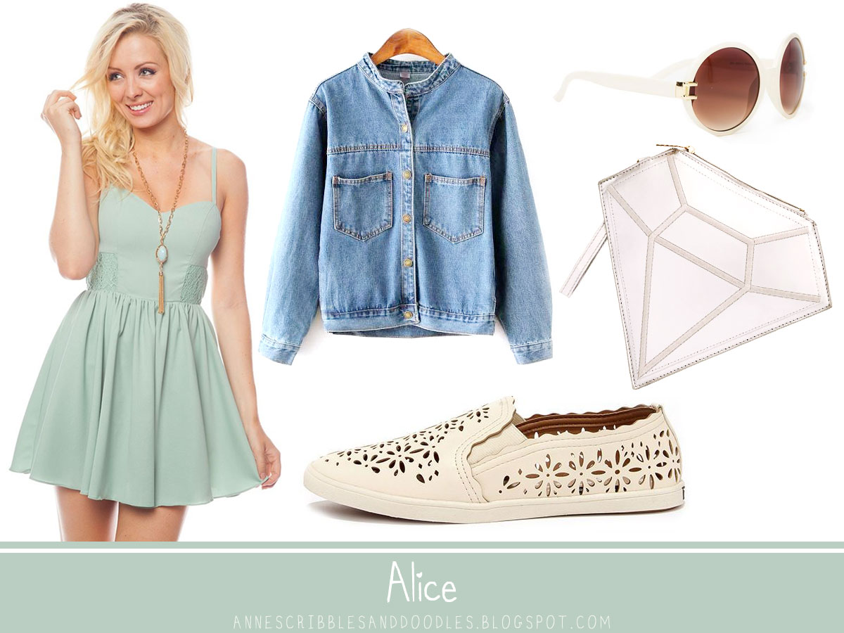 Alice in Wonderland Inspired Outfits | Anne's Scribbles ...