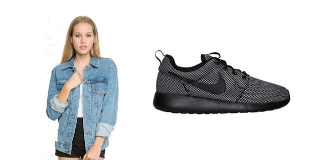 Brandy Melville Jean Jacket, Nike Roshe Runs, College Blogger, Lifestyle Blogger