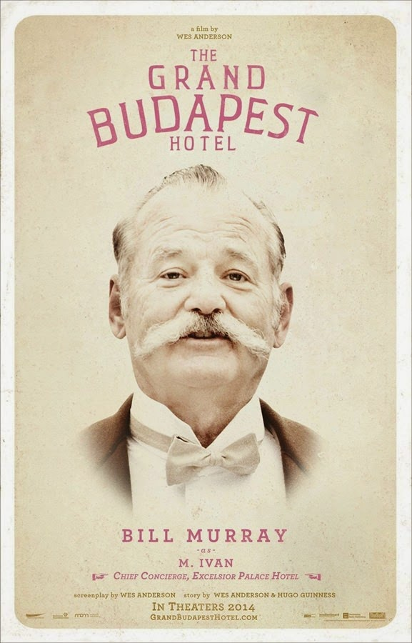 the grand budapest hotel bill murray