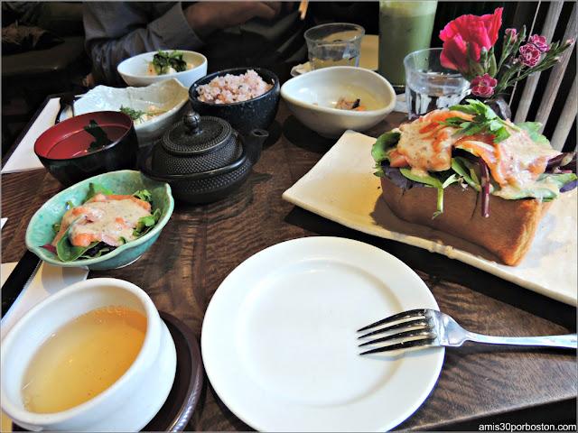 Yenzen Silver Needle en Cha-An Teahouse, Nueva York
