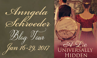 Blog Tour: A Lie Universally Hidden by Anngela Schroeder