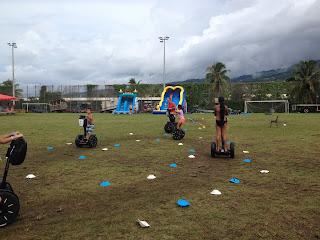 Séminaire Te Tiare en Segway à Tahiti