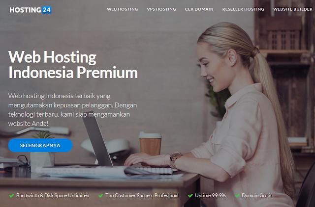 Web Hosting Indonesia Terbaik dan Terpercaya