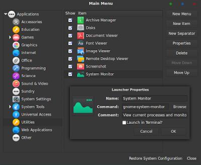 Cara Membuat Pintasan di Linux Debian 9