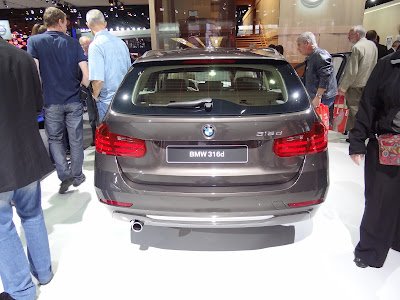 2013 BMW 316d touring rear