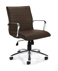 Ribbed Back Office Chair for The Boardroom