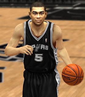 NBA 2K13 Cory Joseph Cyberface NBA2K Patches