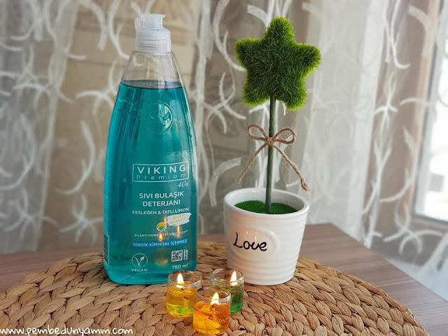 viking premium sıvı bulaşık deterjanı