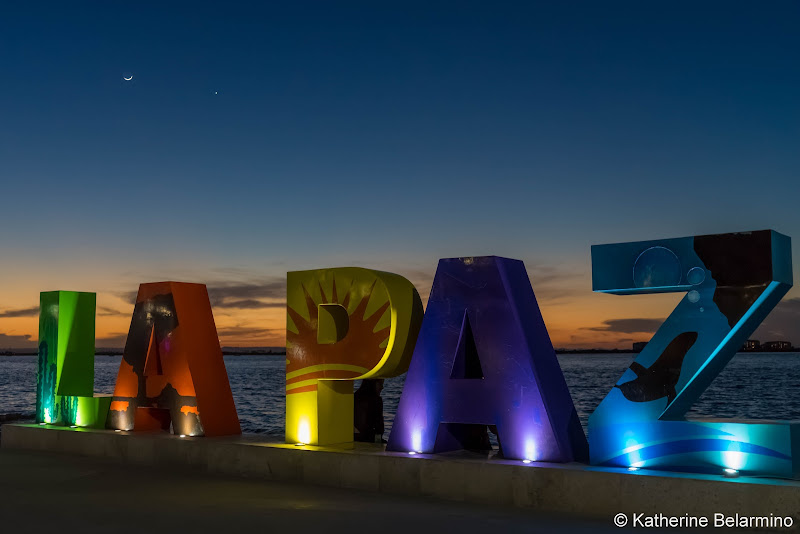 La Paz Sign Malecon Things to Do in La Paz Mexico