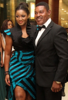 omotola jalade using husband slave