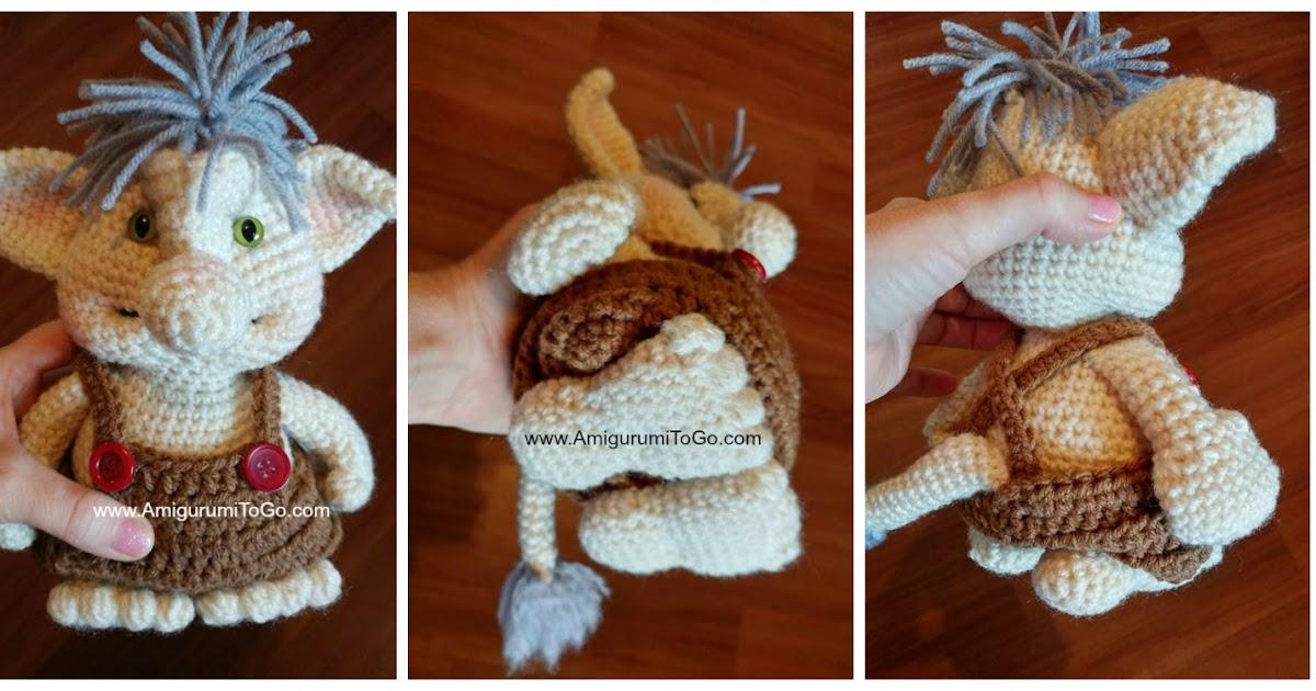 Crochet Bobble Trolls Amigurumi To Go Interesting Trolls Crochet Pattern