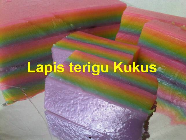 Resep Cake Kukus Pelangi Ncc: NCC Rainbow Week : Rainbow Lapis Tepung Kukus