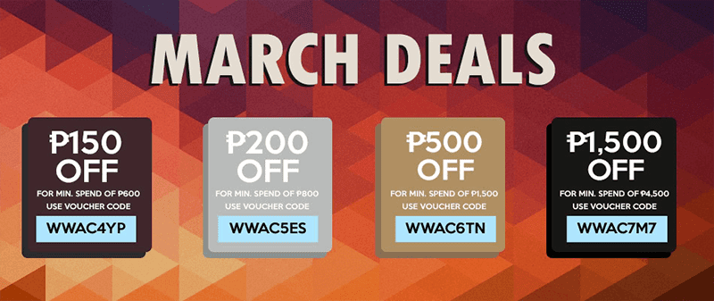 Just use the 1,500 Pesos off voucher code before you check out!