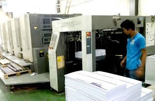 mesin cetak 1 plano