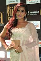 Prajna Actress in backless Cream Choli and transparent saree at IIFA Utsavam Awards 2017 0040.JPG