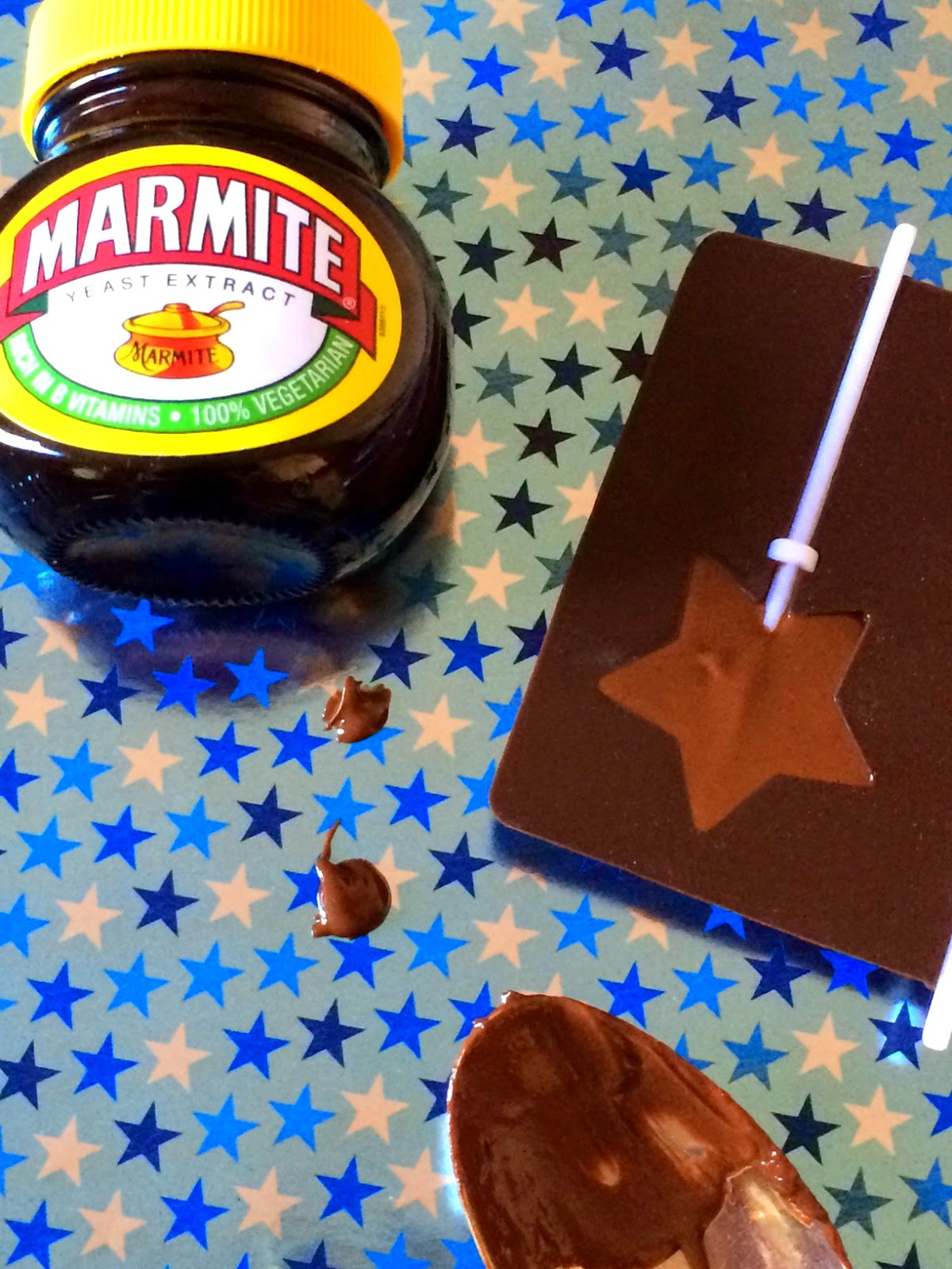 How to make Marmite chocolate lollies