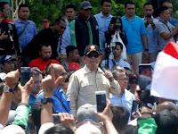 Prabowo Hadiri Kopi Darat Ojek Online Di Sentul