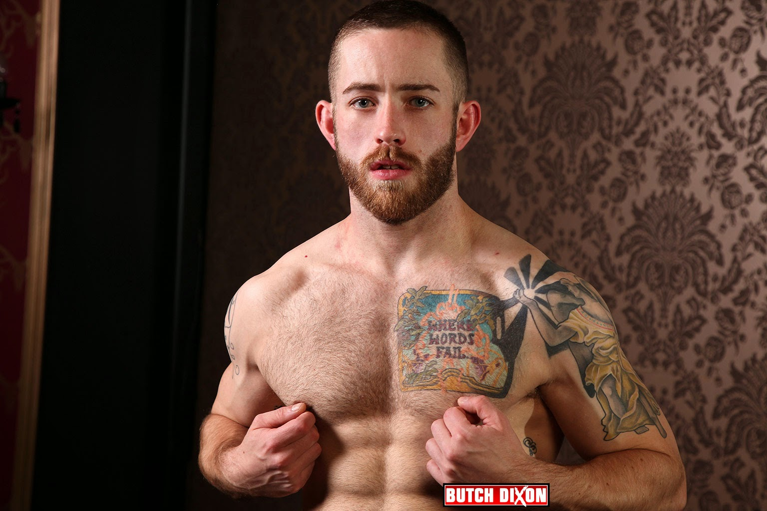 Alfie Gay Porn Star - bearded guy alfie stone gets nude at butch dixon