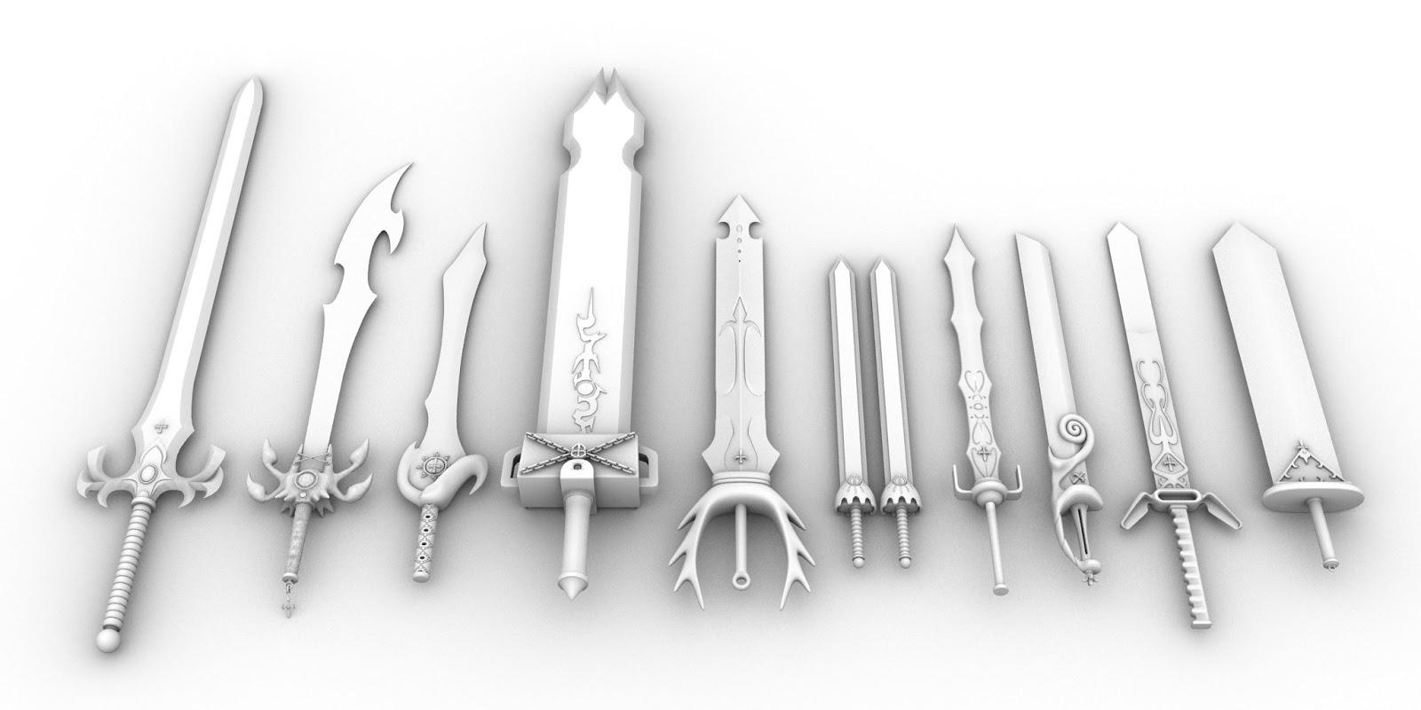 The Glory of Ten Sword pedang paling tajam di dunia
