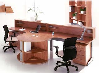 Đặc điểm của thiết kế nội thất văn phòng sử dụng đồ dùng bằng gỗ