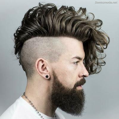 Peinado de moda para hombre