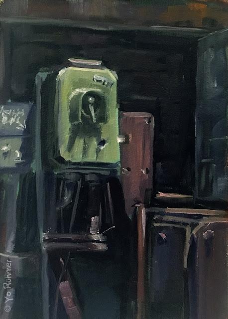 Ölbild pleinairmalerei