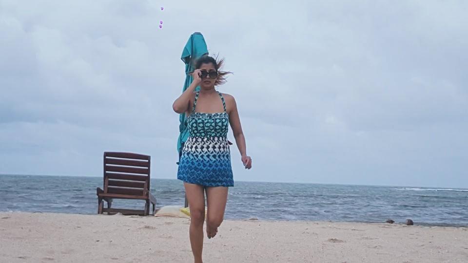 nadeesha hemamali 's new hot bikini photos in Pasikuda beach