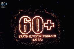 Malam Puncak Earth Hour 2019 Dimeriahkan Dengan Ratusan Lilin