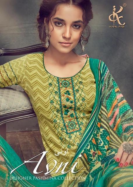 Kapil Fab Avni Woolen winter Salwar Kameez Collection