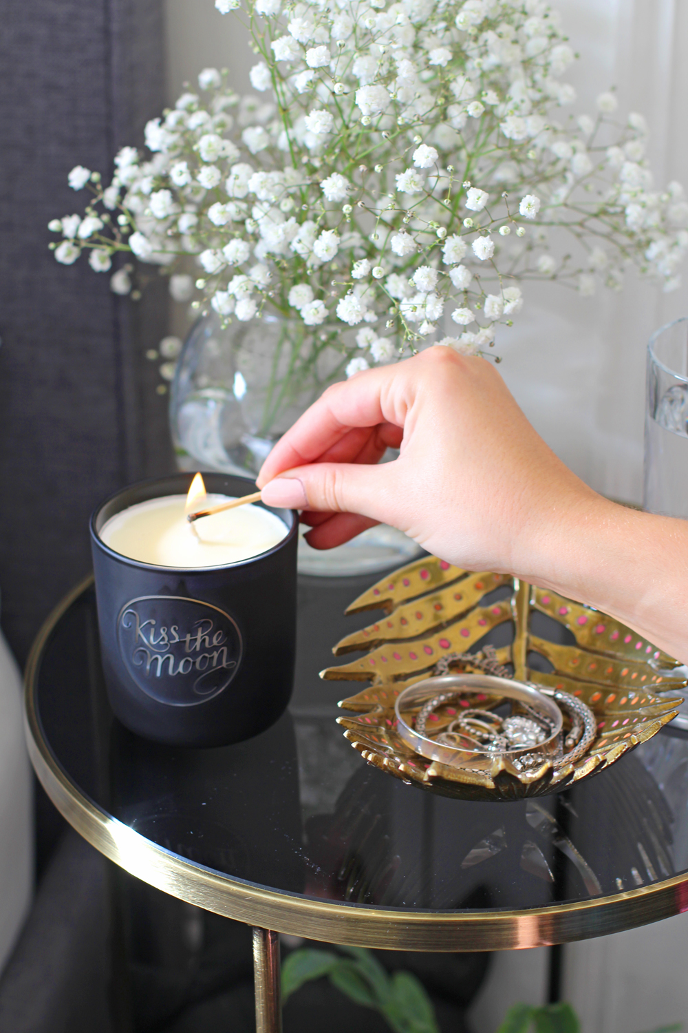 Kiss the Moon glow candle - UK lifestyle & interiors blog