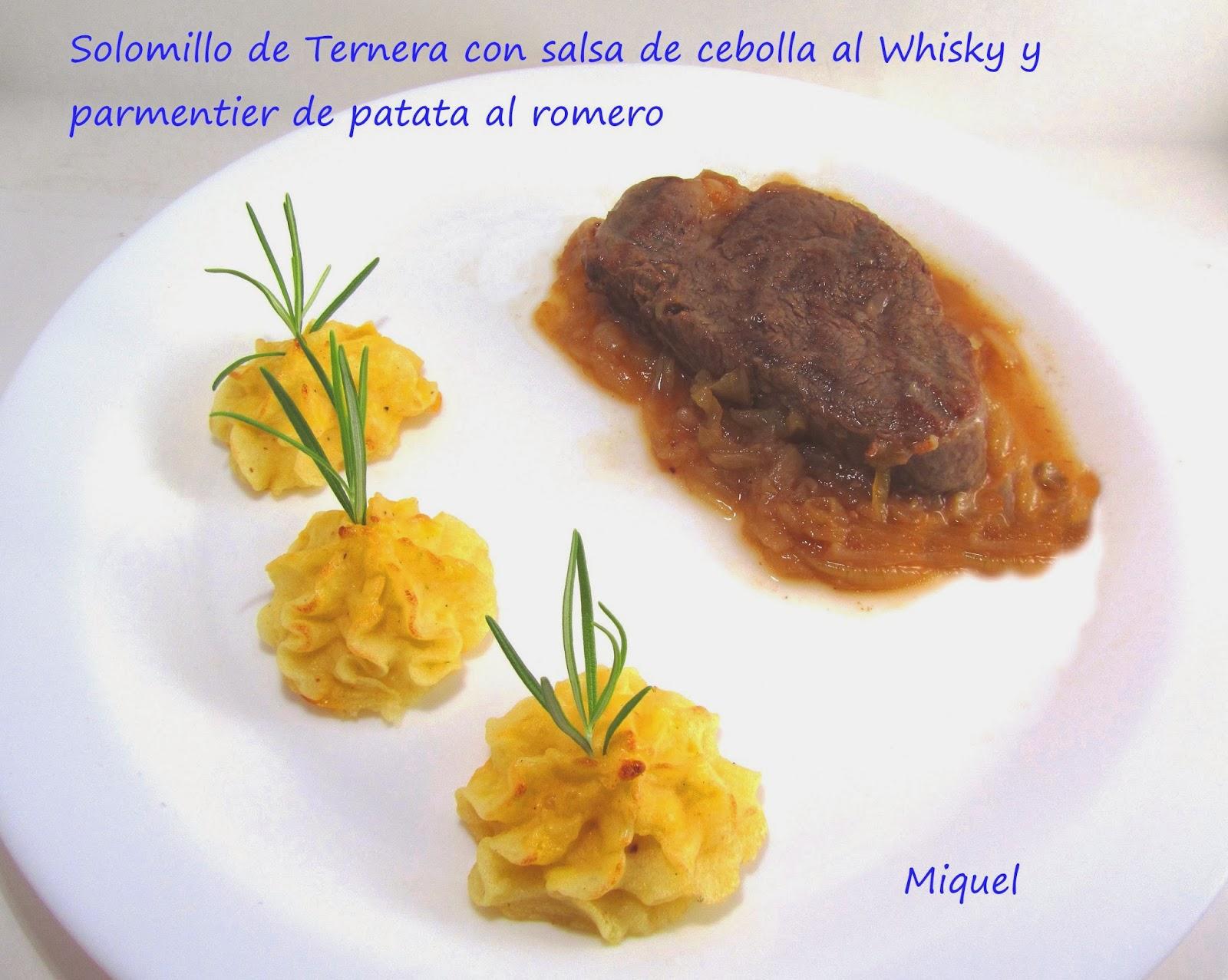 Les receptes del miquel solomillo de ternera con salsa de for Solomillo de ternera