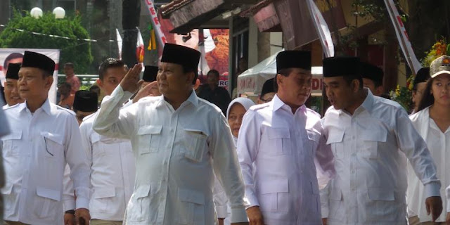 HUT Gerindra Ke 10 Diwarnai Insiden Memalukan Kadernya Yang Tidak Hafal Pancasila, Prabowo Cuma Bilang....