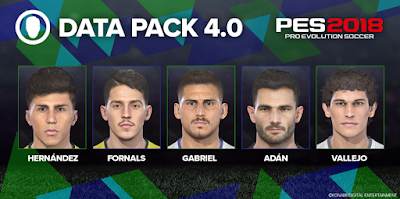 PES 2018 Official Update Patch 1.05 + Datapack 4.0