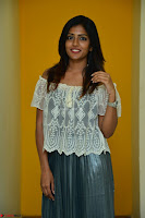 Eesha in a cute deep neck top and Skirt at at Big FM 122.JPG
