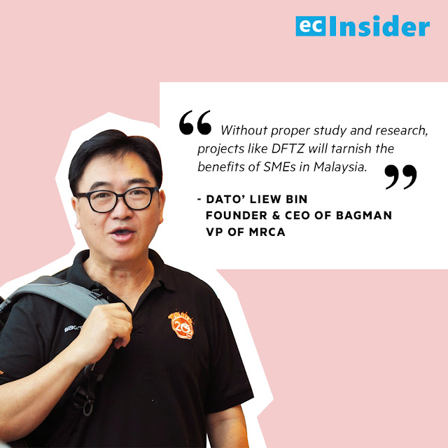 Dato' Liew Bin, Founder & CEO of Bagman